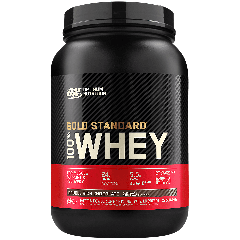 OPTIMUM NUTRITION GOLD 100% WHEY DOUBLE RICH CHOCOLATE (29 serv) 2 lb