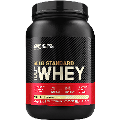 OPTIMUM NUTRITION GOLD 100% WHEY VANILLA ICE CREAM (29 serv) 2 lb