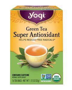 YOGI TEA GREEN TEA SUPER ANTIOXIDANT 16 EA