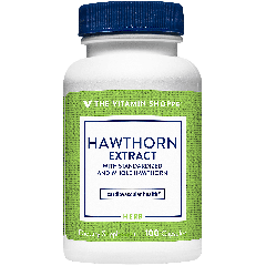 THE VITAMIN SHOPPE HAWTHORN 565 mg (100 cap)
