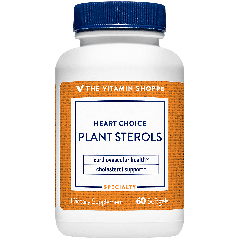 THE VITAMIN SHOPPE HEART CHOICE PLANT STEROLS (60 softg)
