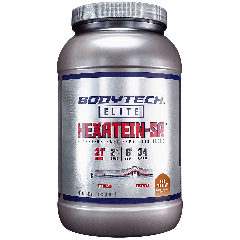 BODYTECH HEXATEIN-SR RICH CHOCOLATE (34 serv) 3 lb