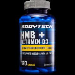HMB + Vitamina D3 (120 cap)