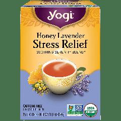 YOGI TEA HONEY LAVENDER STRESS RELIEF 16 EA
