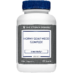 THE VITAMIN SHOPPE HORNY GOAT WEED COMPLEX (60 cap)