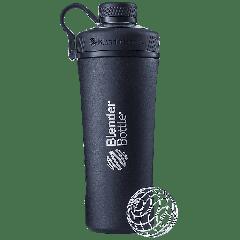Insulated Stainless Steel Shaker Bottle Black (26 fl oz)