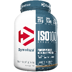 DYMATIZE ENTERPRISES ISO100 COOKIES & CREAM (45 serv) 3 lb