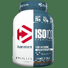 DYMATIZE ENTERPRISES ISO100 GOURMET CHOCOLATE (43 serv) 3 lb