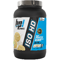 BPI ISO HD VANILLA COOKIE (23 serv) 1.6 lb