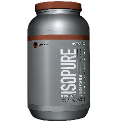 ISOPURE ISOPURE LOW CARB DUTCH CHOCOLATE (42 serv) 3 lb
