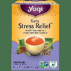 YOGI TEA KAVA STRESS RELIEF 16 EA