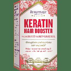 RESERVEAGE KERATIN HAIR BOOSTER W/ BIOTIN & RESVERATROL (60 cap)