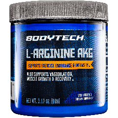 BODYTECH L-ARGININE AKG UNFLAVORED 3 g (30 serv)