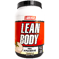 LABRADA NUTRITION LEAN BODY MEAL REPLACEMENT VANILLA (16 serv) 2.47 lb