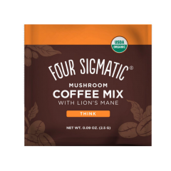 FOUR SIGMATIC LION'S MANE & CHAGA MUSHROOM COFFEE MIX (10 serv)