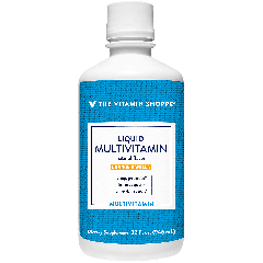 THE VITAMIN SHOPPE LIQUID MULTI ORANGE VANILLA (32 oz)