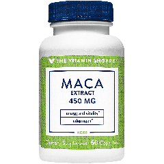 THE VITAMIN SHOPPE MACA EXTRACT 450 mg (60 cap)