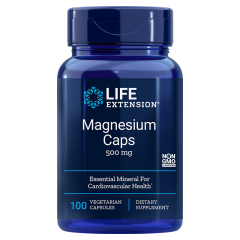 LIFE EXTENSION MAGNESIUM CAPS 500 mg (100 veg cap)