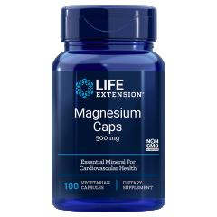 LIFE EXTENSION MAGNESIUM CAPS 500 mg (100 veg cap)