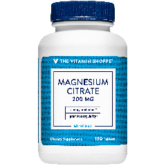 THE VITAMIN SHOPPE MAGNESIUM CITRATE 200 mg (100 cap)