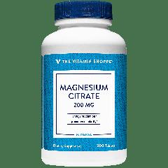 Citrato de Magnesio de Vitamin Shoppe Panama de 300 capsulas