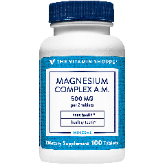 THE VITAMIN SHOPPE MAGNESIUM COMPLEX A.M. 500 mg (100 tab)