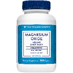 THE VITAMIN SHOPPE MAGNESIUM OXIDE 400 mg (200 cap)