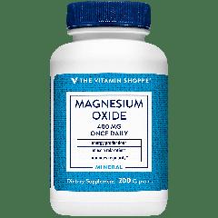 THE VITAMIN SHOPPE MAGNESIUM OXIDE 400 mg (200 cap)