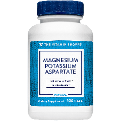 THE VITAMIN SHOPPE MAGNESIUM POTASSIUM ASPARTATE (100 tab)