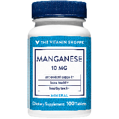 THE VITAMIN SHOPPE MANGANESE 10 mg (100 tab)