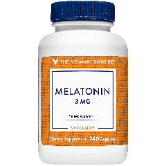 THE VITAMIN SHOPPE MELATONIN 3 mg (240 cap)