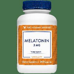 THE VITAMIN SHOPPE MELATONIN 3 mg (240 cap)