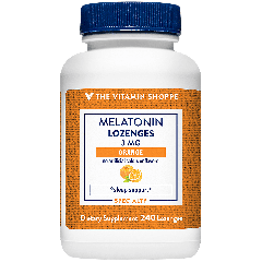 THE VITAMIN SHOPPE MELATONIN 3 mg (240 sublingual)