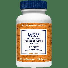 THE VITAMIN SHOPPE MSM 1000 mg (120 cap)