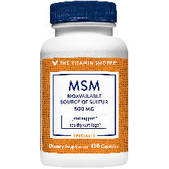 THE VITAMIN SHOPPE MSM 500 mg (120 cap)