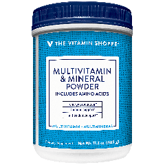 THE VITAMIN SHOPPE MULTIVITAMIN & MINERAL POWDER (30 serv) 16.95 oz
