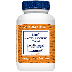 THE VITAMIN SHOPPE NAC N-ACETYL-L-CYSTEINE 600 mg (50 cap)