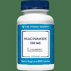 THE VITAMIN SHOPPE NIACINAMIDE VIT B3 500 mg (100 cap)