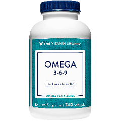 THE VITAMIN SHOPPE OMEGA 3-6-9 (240 soft)