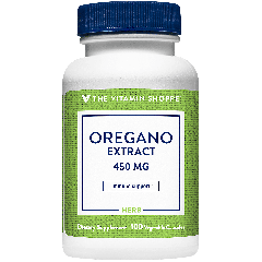 THE VITAMIN SHOPPE OREGANO EXTRACT 450 mg (100 veg cap)