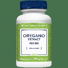 THE VITAMIN SHOPPE OREGANO EXTRACT 450 mg (100 veg cap)