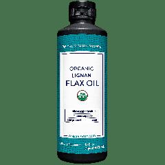 THE VITAMIN SHOPPE ORGANIC HIGH LIGNAN FLAX OIL (16 fl oz)