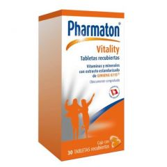 Pharmaton Vitality X 30 The Vitamin Shoppe Panamá
