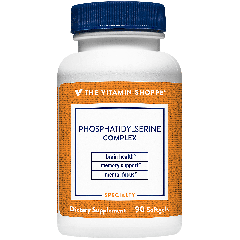 THE VITAMIN SHOPPE PHOSPHATIDYLSERINE COMPLEX 500 mg (90 soft)