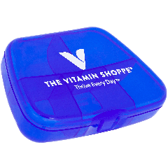 THE VITAMIN SHOPPE POCKET PACK- BLUE. 1 EA
