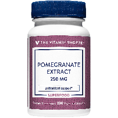 THE VITAMIN SHOPPE POMEGRANATE EXTRACT 250 mg (100 veg cap)