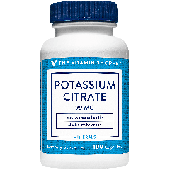 THE VITAMIN SHOPPE POTASSIUM CITRATE 99 mg (100 cap)
