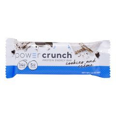 BIONUTRITIONAL RES POWER CRUNCH PROTEIN ENERGY BAR COOKIES & CREME