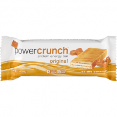 BIONUTRITIONAL RES POWER CRUNCH PROTEIN ENERGY BAR SALTED CARAMEL
