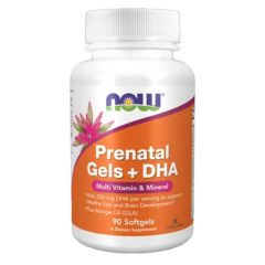 NOW FOODS PRENATAL MULTIVITAMIN W/DHA